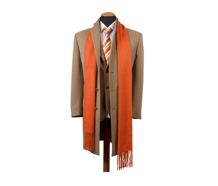 Stylish Business Jacket with Scarf