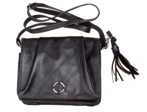 Stylish Handbag from black leather
