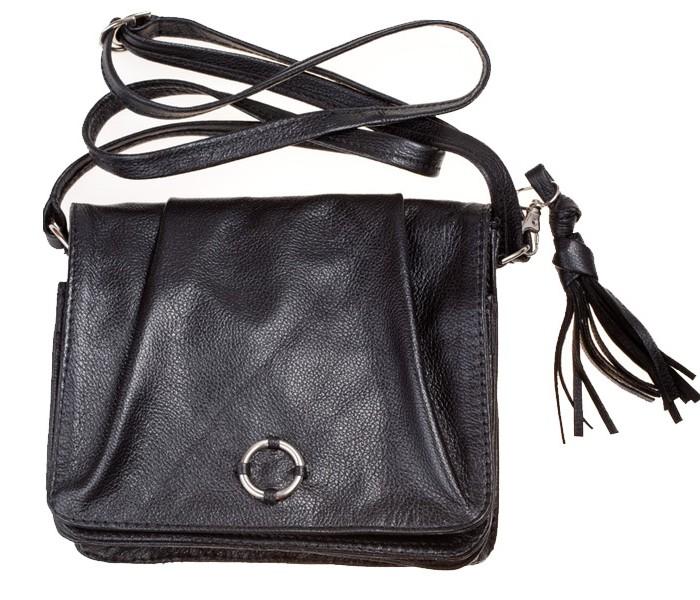 Stylish Handbag from black leather