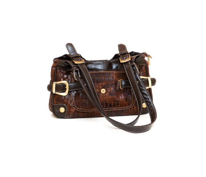 Stylish Handbag from brown leather